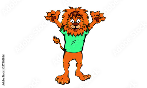 tiger lion wild
