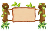 Wooden nature blank board - 237316404