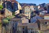 The village of Olargues in the Herault department of France