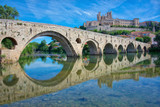 The Old Bridge at Beziers, south of France