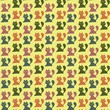 seamless pattern with cats   - 237326005