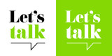 Let's talk - 237332288