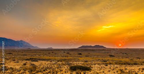 fototapeta na ścianę Damaraland, Namibia, a vast semi desert arid region in Namibia.