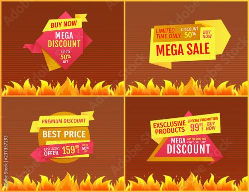 e39f058911c32 Mega Sale Offers on Geometric Shape Shopping Label
