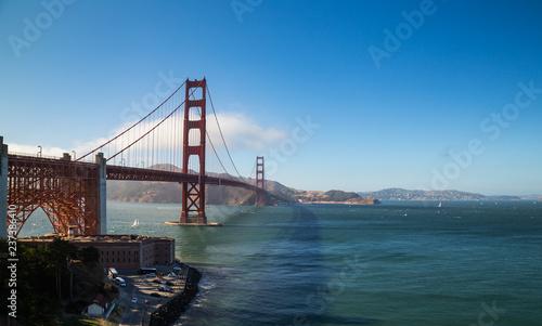 Obraz na płótnie Golden Gate Lookout