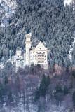 Neuschwanstein castle in Bavaria. Germany