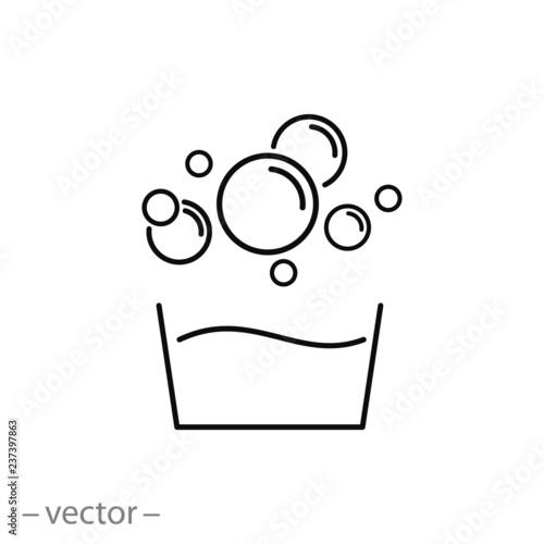 bubble icon vector - 237397863
