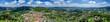 luftbild über lindenfels im odenwald - 237398275