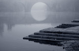 Romantic misty bridge - 237431478