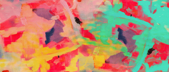 abstract oil paint texture on canvas background.