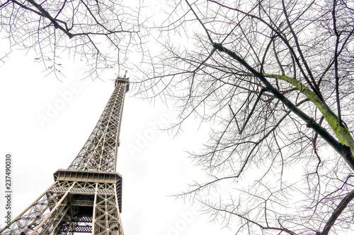 Eiffel Tower, Photo image a Beautiful panoramic view of Paris Metropolitan City - 237490030