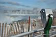 Niagara falls during the winter take 4