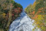 Yutaki waterfalls in autumn, Japan