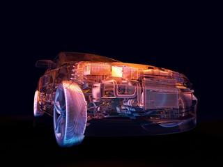 Model cars.