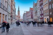 gdansk christmas decoration old town - 237509621