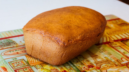 Wholegrain homemade bread