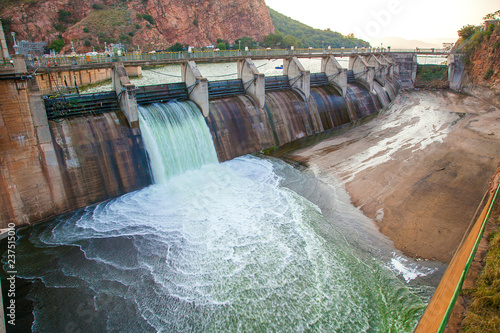 Hartebeespoort dam in South Africa, a water sport and holiday destination.. - 237515010
