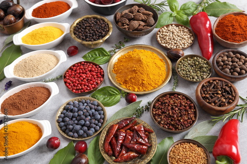 Spices and herbs. - 237525601
