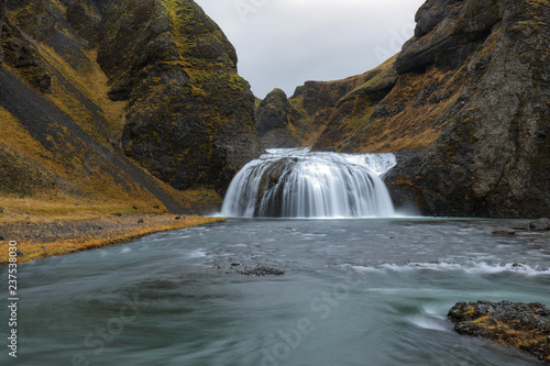 Waterfall of Stjörnarfoss, Iceland - 237538030