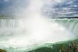 Niagara waterfall of Canadian horseshoe Falls in Canada
