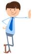 man or businessman cartoon character - 237567841