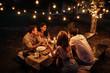 Quiet night with friends