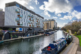 Gainsborough Wharf on Regents Canal in London - 237590440