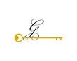 Letter G Key Logo Vector - 237592451
