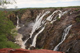 The famous Ruacana falls in northern Namibia.