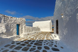 Oia. Traditional building of the Greek Church. - 237596011