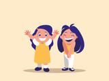 cute little girls avatar character