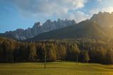 Beautiful Sunset in Tirol Mountains