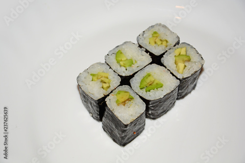 sushi, food, rice, japanese, fish, roll, salmon, maki, meal, seafood, white, dinner, japan, isolated, gourmet, asia, cuisine, traditional, healthy, plate, seaweed, delicious, raw, sashimi, appetizer
