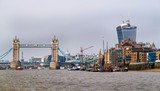 London, River Thames and Tower Bridge