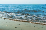 sea shore, sea and sandy beach