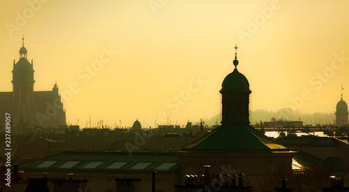 Above the roofs of Krakow III