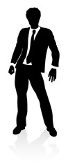Very high quality business person silhouette © Christos Georghiou