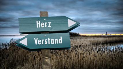 Schild 382 - Herz