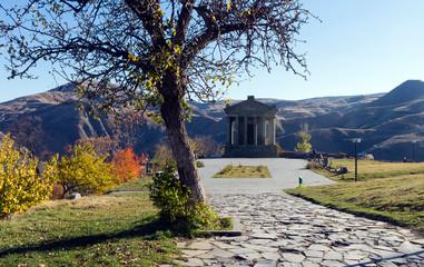 Garni temple in Armenia.