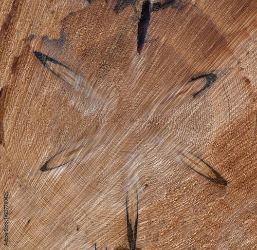 Holzstruktur mit sternförmigem Muster - 237700426