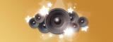 Stars and speakers / Etoiles et haut-parleurs - 237702878