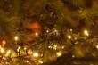Lights of a Christmas tree
