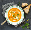 Leinwanddruck Bild - Curry Pumpkin Soup......
