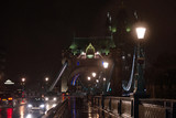 Tower Bridge London in the night.