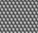 shiny gray hexa cube - 237722044