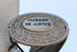 Plaque huissier de justice - 237739220