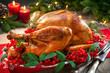 Christmas turkey dinner - 237754403