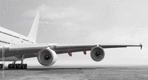 passagierflugzeug ansicht 2