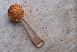 Burger Seasoning in a Copper Tablespoon - 237783852