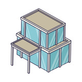 Company building isometric - 237786202